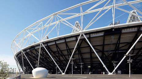 olympic stadium wins steel design award