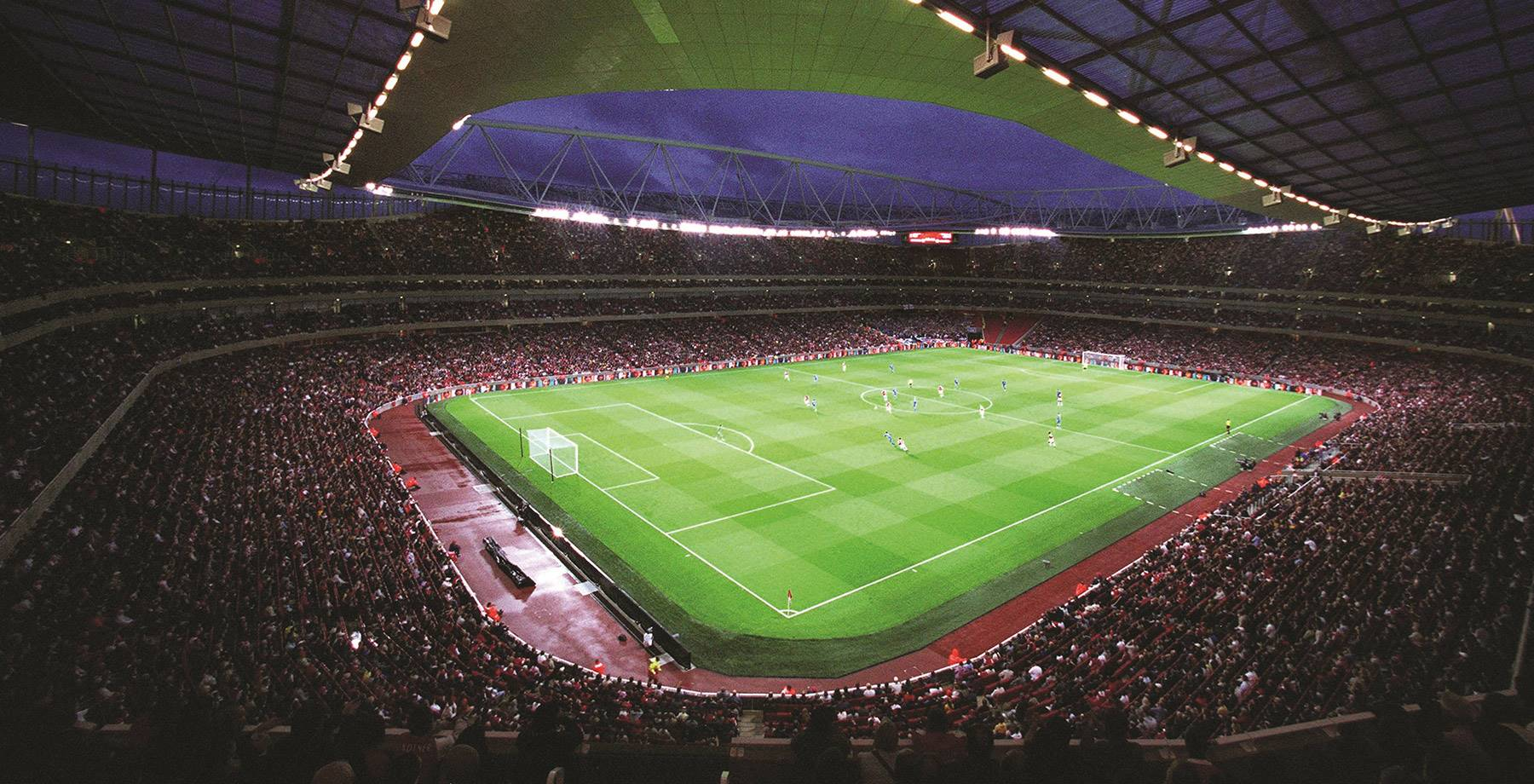 Inside Arsenal's Emirates Stadium