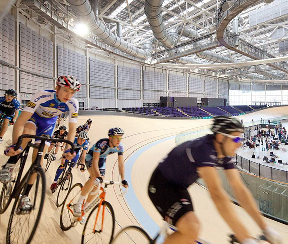 sporting hub at the emirates velodrome