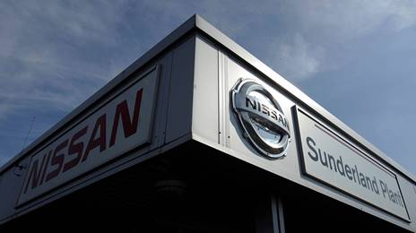 Nissan car manufacturing plant
