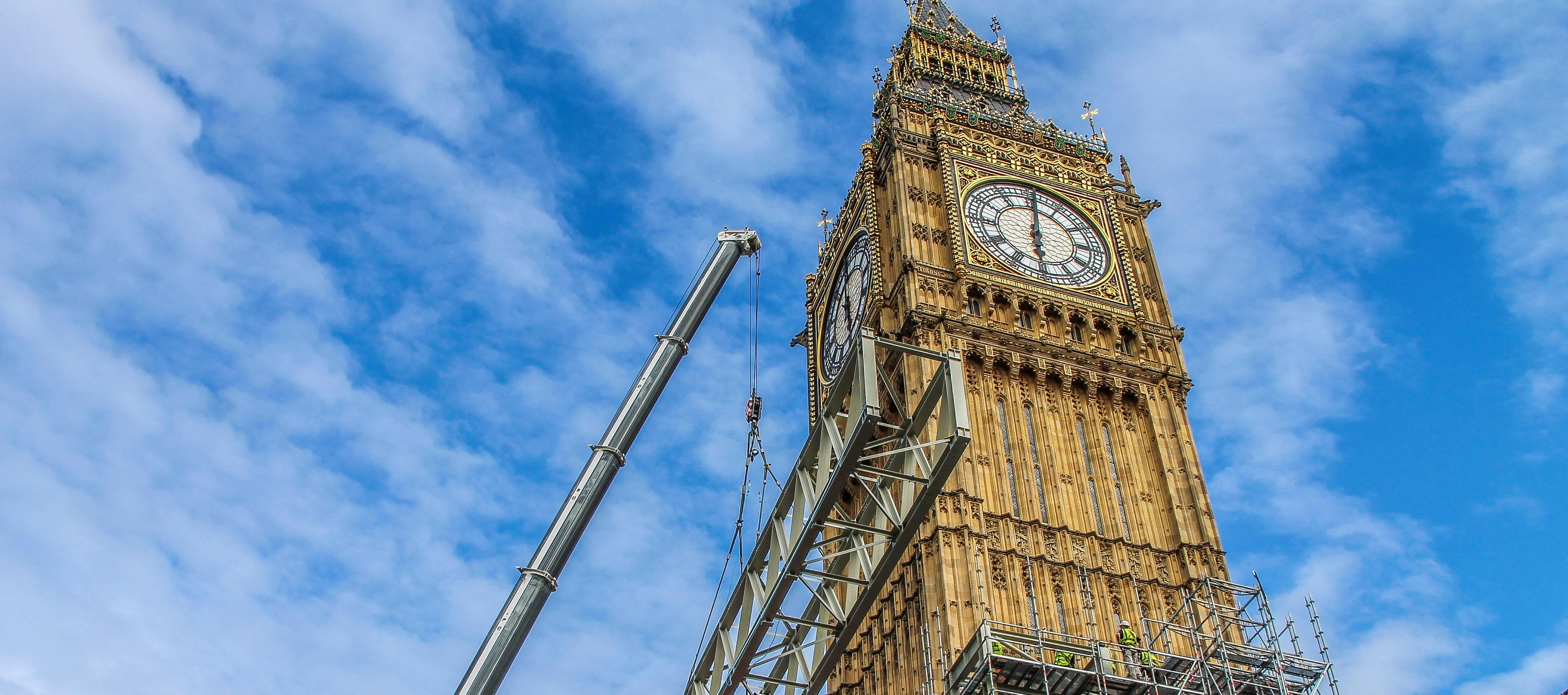 Proudly building Britain's future heritage - Sir Robert McAlpine