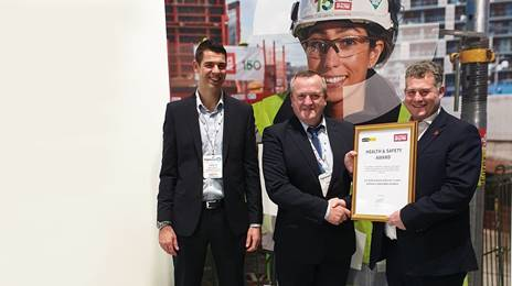 A19 team picks up health and safety award at Highways UK event 2019