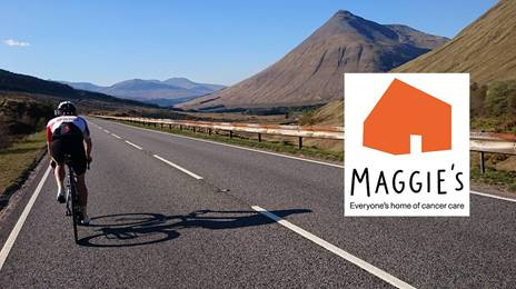 Heart to Home charity cycle ride for maggie's