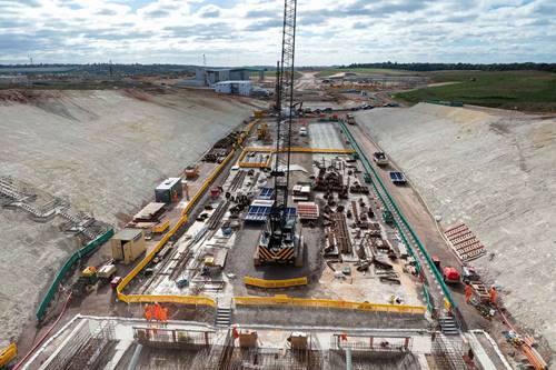 View of our Align JV site at Chiltern Tunnel